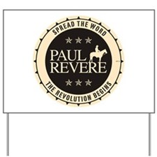 Paul Revere Yard Sign