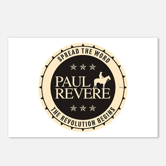 Paul Revere Postcards (Package of 8)