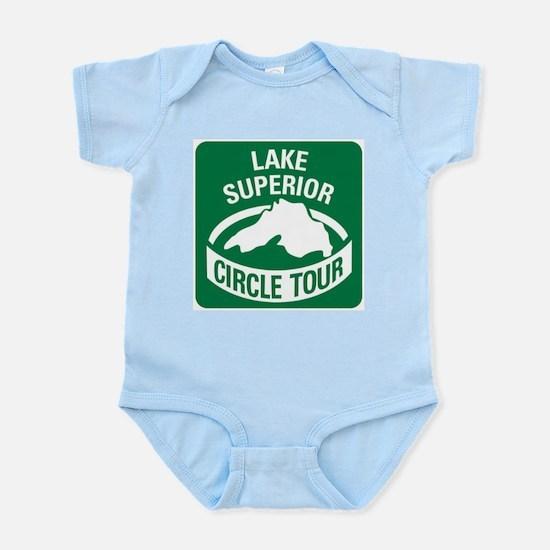 Lake Superior Circle Tour Infant Bodysuit