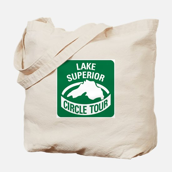 Lake Superior Circle Tour Tote Bag