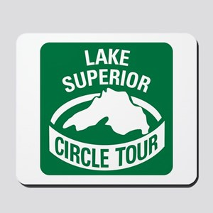 Lake Superior Circle Tour Mousepad