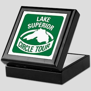 Lake Superior Circle Tour Keepsake Box