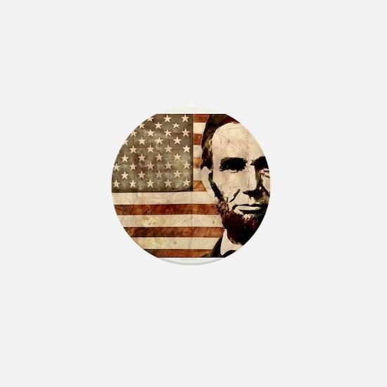 Abraham Lincoln Mini Button