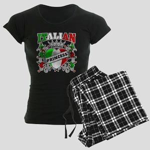Italian Princess Women's Dark Pajamas