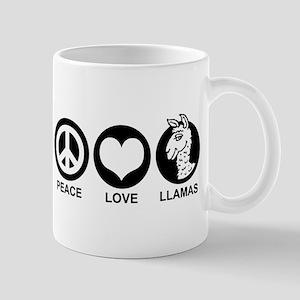 Peace Love Llama Mug