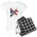God Bless The United States Women's Light Pajamas