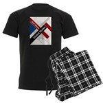 God Bless The United States Men's Dark Pajamas