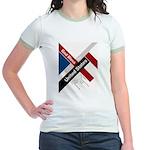 God Bless The United States Jr. Ringer T-Shirt