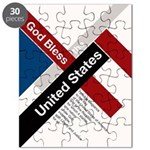 God Bless The United States Puzzle