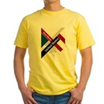 God Bless The United States Yellow T-Shirt