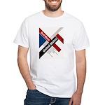 God Bless The United States White T-Shirt