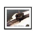 USS HENRY L. STIMSON Framed Panel Print