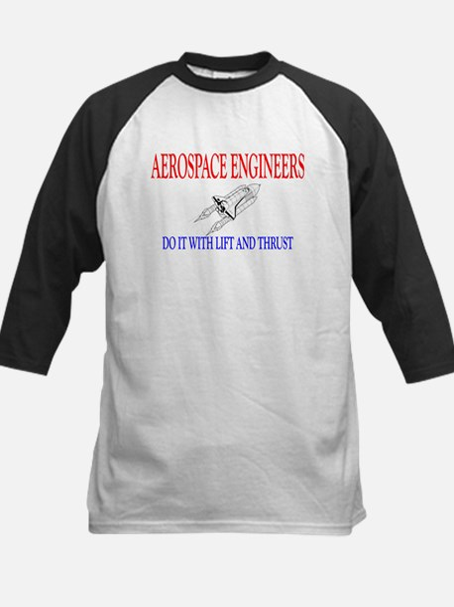 Aerospace Engineers Do It Kids Baseball Jersey