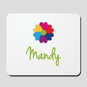 Mandy Valentine Flower Mousepad