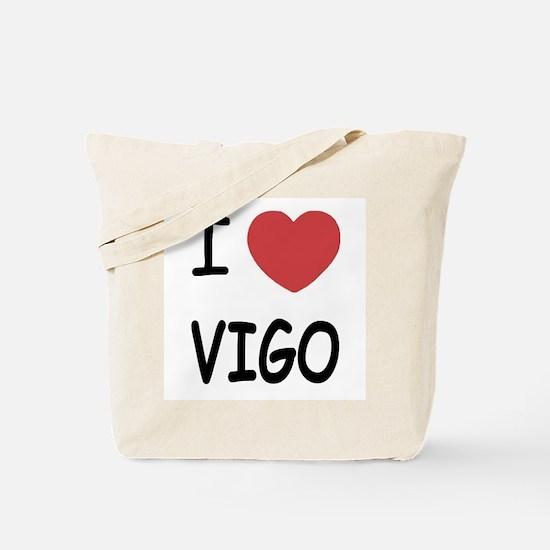 I heart vigo Tote Bag
