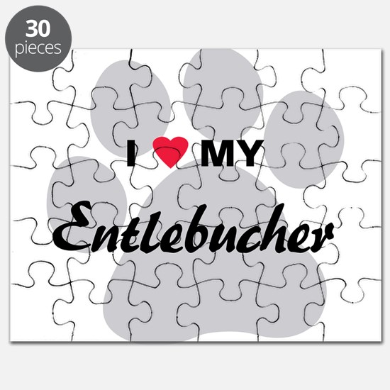 I Love My Entlebucher Puzzle
