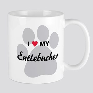 I Love My Entlebucher Mug