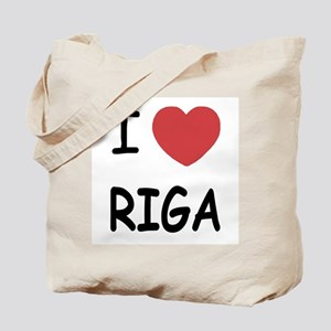 I heart riga Tote Bag