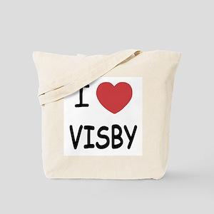 I heart visby Tote Bag