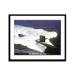 USS HOUSTON Framed Panel Print