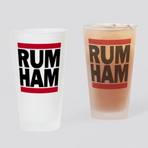 RUM HAM Drinking Glass