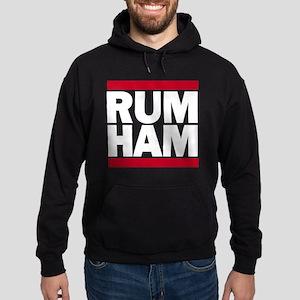 RUM HAM Hoodie (dark)