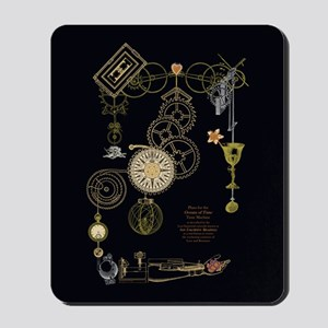 Steampunk Oceans of Time Mousepad