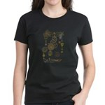 Steampunk Oceans of Time Women's Dark T-Shirt