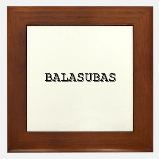 Balasubas Framed Tile
