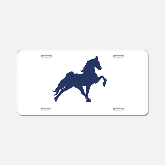 Tennessee walking horse Aluminum License Plate