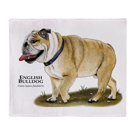 english bulldog blanket english bulldog throw blanket by wildlifearts2 8489
