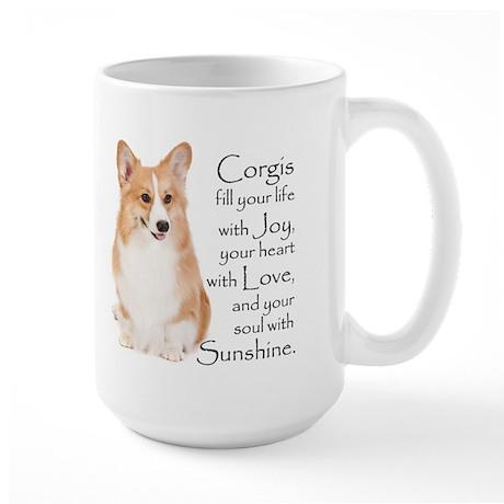 Pembroke Corgi Large Mug