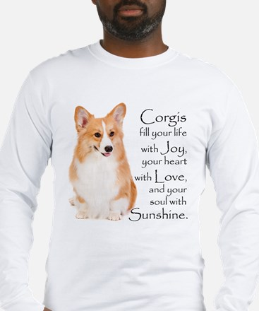 Pembroke Corgi Long Sleeve T-Shirt