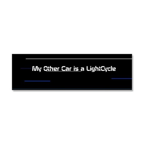 Tron Lightcycle - Car Magnet 10 x 3