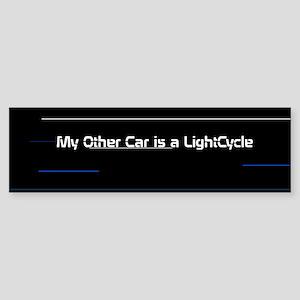 Tron Legacy Bumper Sticker - Lightcycle