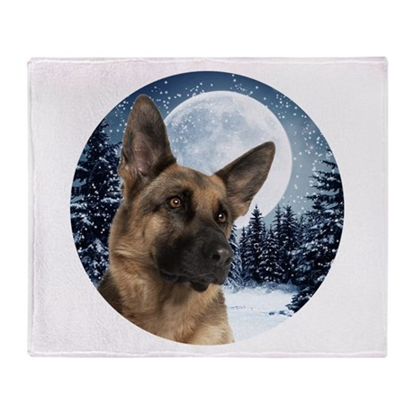 german shepherd blanket german shepherd throw blanket by shopdoggifts 676