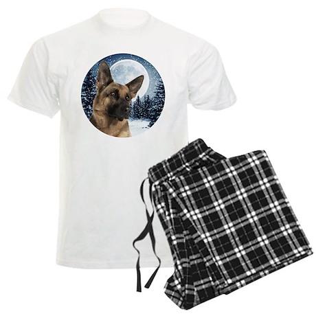German Shepherd Men's Light Pajamas