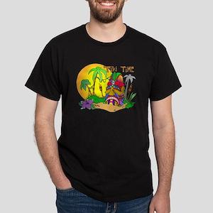 TIKI Face TIME Dark T-Shirt
