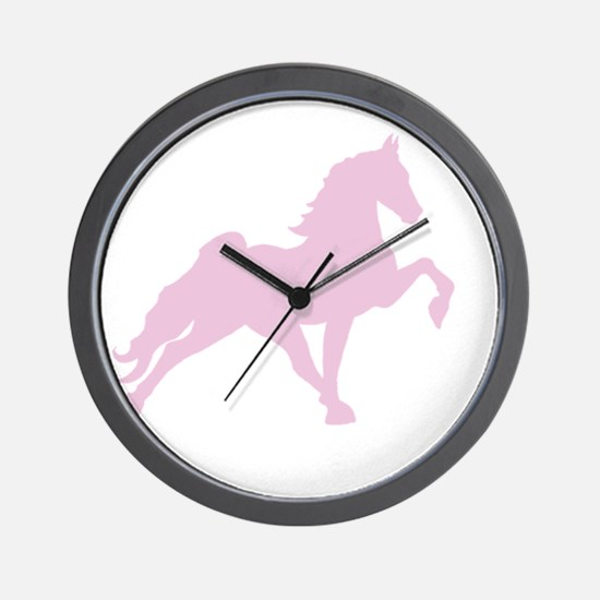 Funny Tennessee walking horses Wall Clock