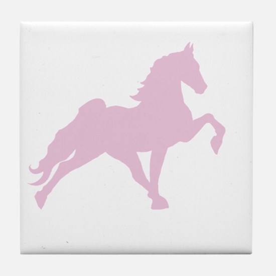 Funny Tennessee walking horses Tile Coaster