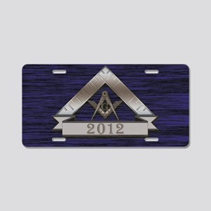 Worshipful Master Year Aluminum License Plate