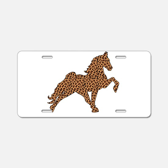 Cool Tennessee walkers Aluminum License Plate
