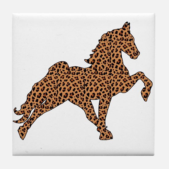 Cute Tennessee walking horses Tile Coaster