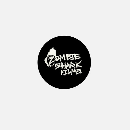 Zombie Shark Scribble Mini Button (10 pack)