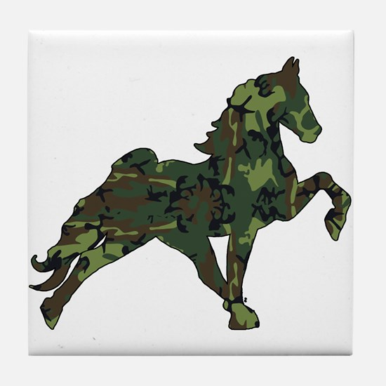 Unique Tennessee walking horses Tile Coaster