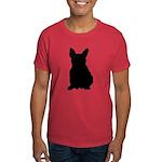 French Bulldog Silhouette Dark T-Shirt