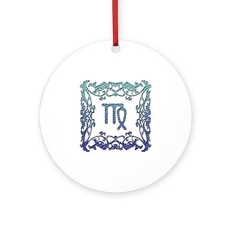 Virgo Lattice Ornament (Round)