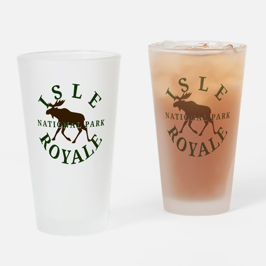 Isle Royale National Park Drinking Glass