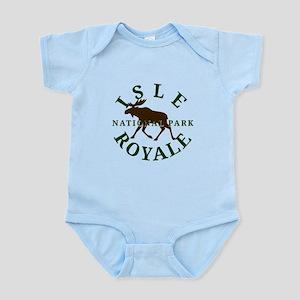 Isle Royale National Park Infant Bodysuit
