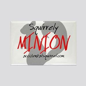 Squirrely Minion Rectangle Magnet